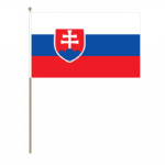 Slovakia Country Hand Flag - Large.